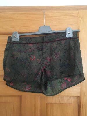 Shorts kurze Hose von Pull&Bear Größe L khaki weinrot