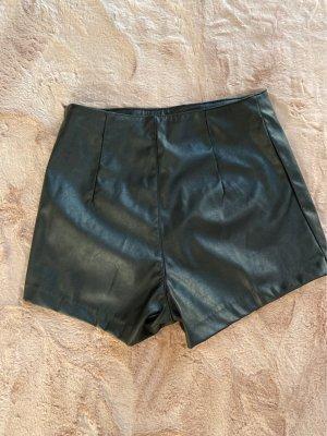 Devided von H&M Pantalon en cuir noir