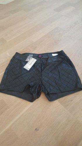 Shorts Lederoptik