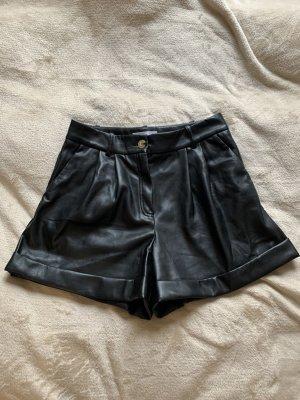 Shorts Lederoptik Mango