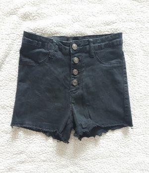 MISS ANNA Denim Shorts black