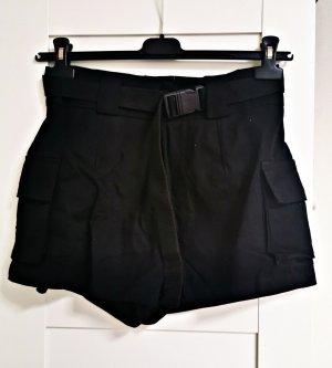SheIn High waist short zwart