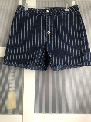 Shorts Mudo XL blau weiss rosa