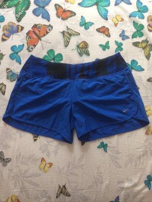 Nike Pantalón corto deportivo azul-negro