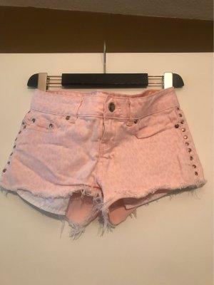 Pink Victoria's Secret Pantalón corto de tela vaquera rosa claro-rosa