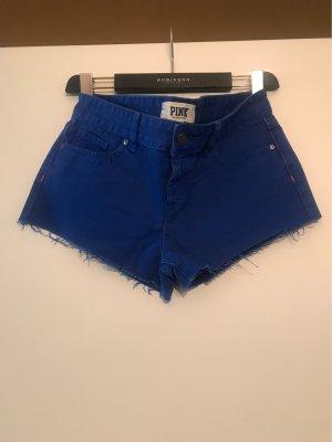 Pink Victoria's Secret Pantalón corto de tela vaquera azul