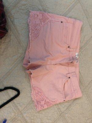 Hot pants lichtroze-rosé