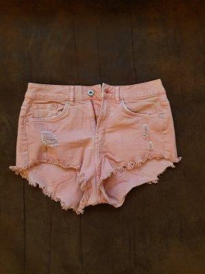Shorts rosa hippie boho