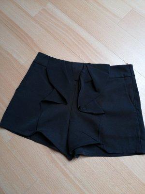 Shorts schick schwarz Schleife elegant