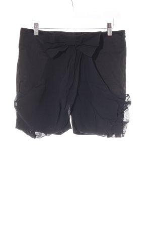 Shorts schwarz Casual-Look