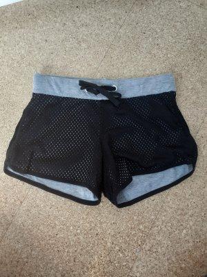 Shorts schwarz grau