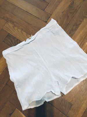 Zara Bas bleu azur tissu mixte