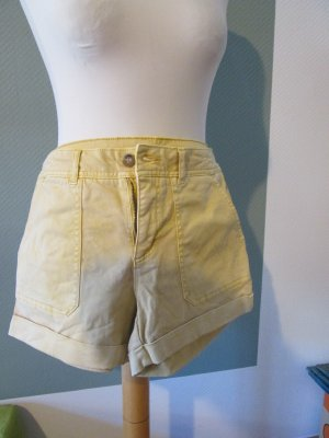 Shorts Sommershorts hellgelb Gr. 36 c&c california neu