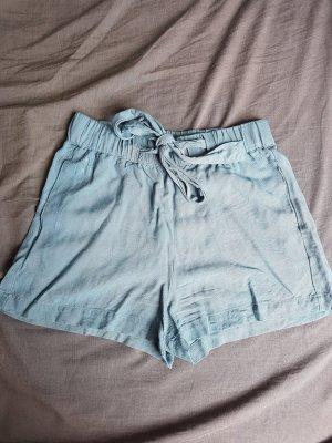 Shorts Stoff  hellblau