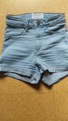 Terranova Shorts azul neón Acrílico