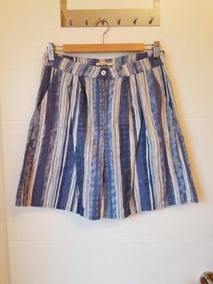 armedangels High waist short wit-korenblauw