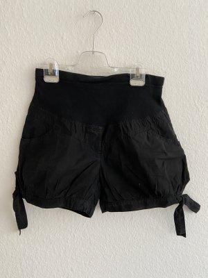 ATTESA Maternity Short taille haute noir