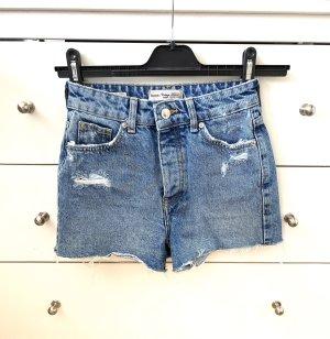 Bershka Short en jean multicolore