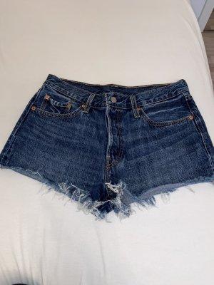 Levi's Pantalón corto azul oscuro-azul Denim