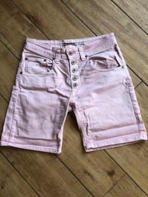 Please Pantaloncino di jeans rosa Cotone