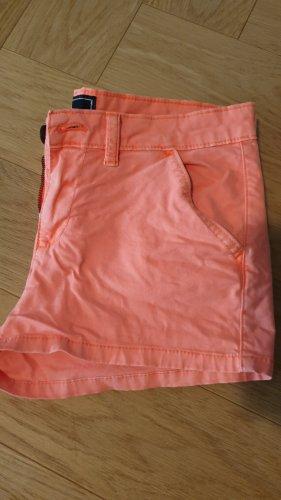 Shorts von Superdry in Neon-Orange - Größe XS