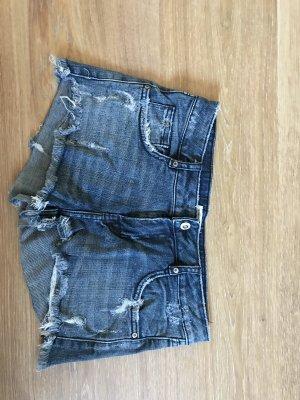 TRF Denim Pantaloncino di jeans azzurro-blu fiordaliso