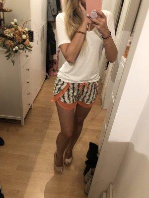 Shorts ZARA Muster Orange L