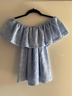 Pimkie Top asymétrique bleu azur