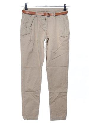 showgirls Pantalon chinos blanc cassé style décontracté