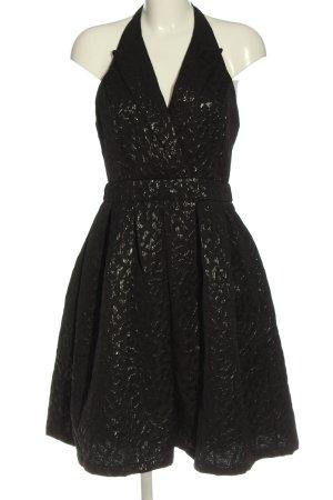 showny Suknia balowa czarny Na całej powierzchni W stylu casual