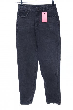 Showpo High Waist Jeans schwarz Casual-Look