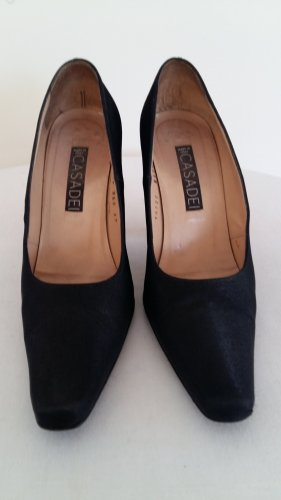 Casadei Loafers black leather