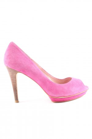 si by sinela Peeptoe Pumps pink Casual-Look