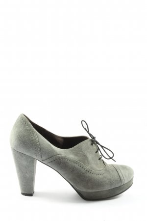 si by sinela Lace-up Pumps light grey casual look