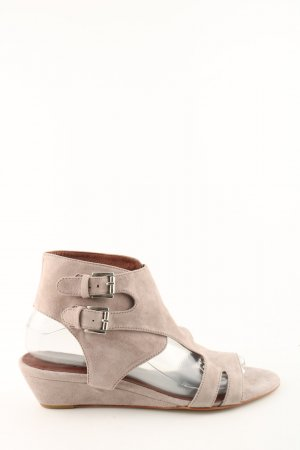 si by sinela Wedges Sandaletten creme Casual-Look
