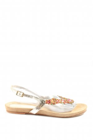 Sí Dianette Sandals natural white-red casual look