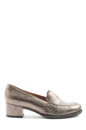 Sí Zapatos Informales color bronce estilo «business»