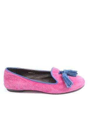 Sí Klassische Ballerinas pink Casual-Look