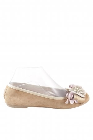 Sí Slingback Ballerinas cream-nude casual look