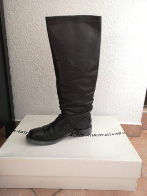 Bikkembergs Bottes plissées noir