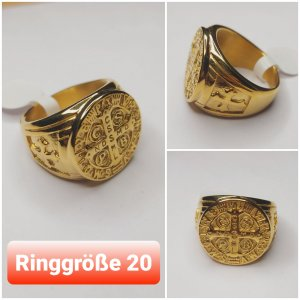 SmD Statement ring goud