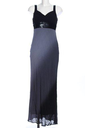 Sienna Abendkleid schwarz-hellgrau Farbverlauf Elegant