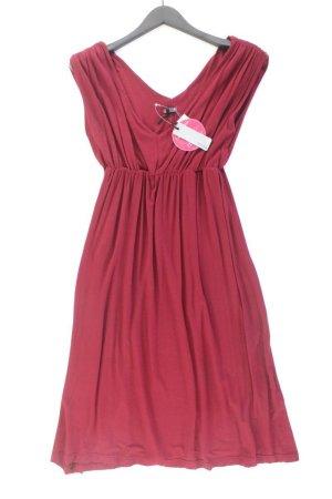 Sienna Abendkleid Größe 36/38 neu mit Etikett Kurzarm rot aus Viskose