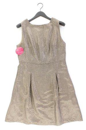 Sienna Abendkleid Größe 42 neu mit Etikett Ärmellos grau aus Baumwolle