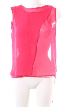 Sienna ärmellose Bluse pink Elegant