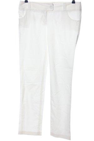 Sienna Pantalon chinos blanc style décontracté
