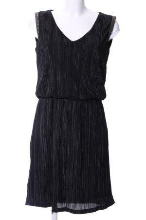 Sienna Cocktailkleid schwarz-hellgrau abstraktes Muster Elegant