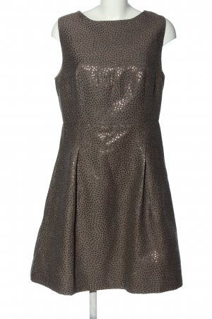 Sienna Cocktail Dress black-gold-colored allover print elegant