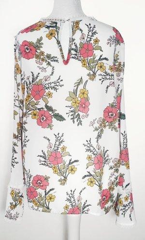 Sienna - Damen Bluse - Flower - Schlupfbluse - Gr. 36