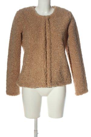 Sienna Futrzana kurtka brązowy W stylu casual